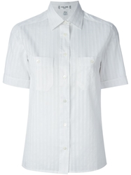 Celine Vintage Short Sleeve Shirt White