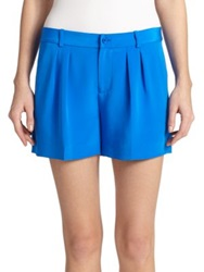 Polo Ralph Lauren Silk Shorts Hydro Blue