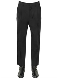 Christophe Lemaire 19Cm Cotton Wool Gabardine Trousers