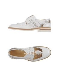 Giacomorelli Lace Up Shoes White