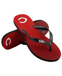 Forever Collectibles Cincinnati Reds High End Flip Flops
