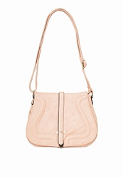 Missguided Piping Detail Satchel Bag Blush