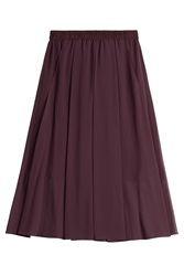 By Malene Birger Midi Skirt Purple