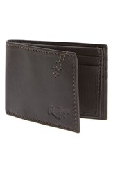 Rawlings Sports Accessories Men's Rawlings 'Legacy' Passcase Bifold Leather Wallet