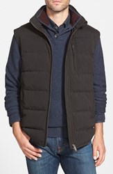 Men's Rodd And Gunn 'Findlay' Quilted Down Vest Onyx