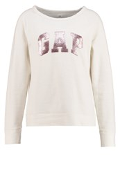 Gap Sweatshirt Snow Cap White