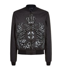 Dolce And Gabbana Floral Print Jacket Male Multi