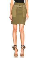Vanessa Bruno Eseka Skirt In Green