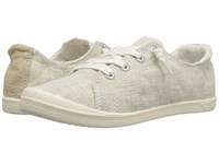Roxy Rory Light Grey Women's Lace Up Casual Shoes Gray