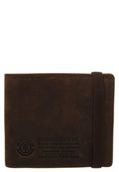 Element Endure Wallet Brown Dark Brown