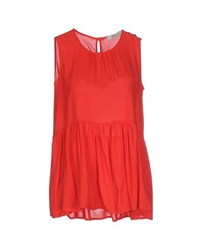 Ki6 Who Are You Topwear Tops Women Red