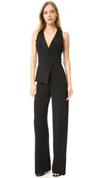 Cushnie Et Ochs Sleeveless Jumpsuit Black