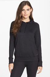 Joe's Jeans Women's Joe's 'Cara' Thermal Hoodie Black