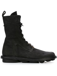 Trippen Lace Up Boots Black