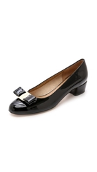 Salvatore Ferragamo Vara Low Pumps Nero