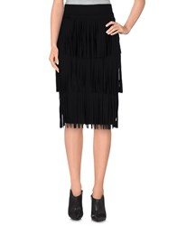 Denny Rose Skirts Knee Length Skirts Women Black