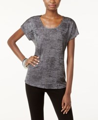 Inc International Concepts Studded T Shirt Only At Macy's Gunmetal