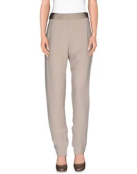 Lanvin Trousers Casual Trousers Women Beige