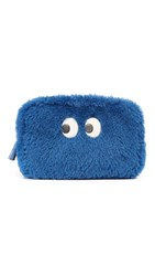 Anya Hindmarch Ghost Make Up Pouch Blueberry