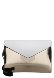Ab A Brand Apart Handbag Black White Gold