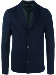 Emporio Armani Three Button Blazer Blue