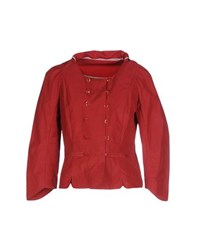 Hoss Intropia Suits And Jackets Blazers Women Brick Red