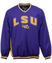 Colosseum Men's Lsu Tigers Fair Catch Pullover