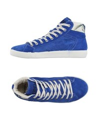 Springa Footwear High Tops And Trainers Men Blue