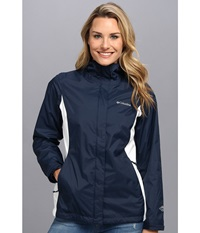 Arcadia Ii Jacket Columbia Navy White Women's Coat Blue
