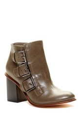 Restricted Tracy Buckle Bootie Gray