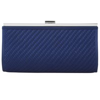 Jacques Vert Woven Detail Bag Dark Blue
