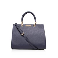 Carvela Kurt Geiger Darla Structured Tote Navy