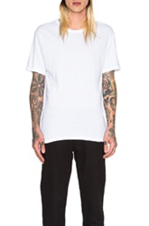 Alexander Wang Classic Short Sleeve Tee In White