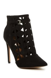 Report Fleure Laser Cut Bootie Black