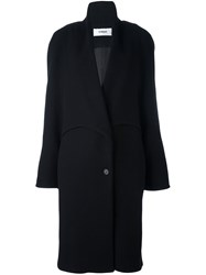 Chalayan Popper Sleeve Coat Black
