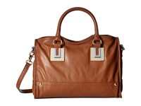 French Connection Arden Satchel Nutmeg Satchel Handbags Brown