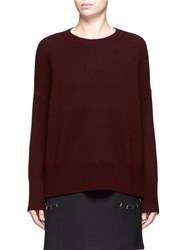 Theory 'Karenia' Cashmere Sweater Red