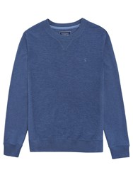 Joules Bounder Loop Crew Neck Sweatshirt Navy Marl