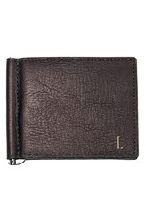 Men's Cathy's Concepts Personalized Leather Wallet And Money Clip Brown Brown L