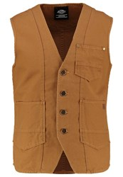 Dickies Grass Creek Waistcoat Brown Duck