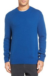 Vince Men's Textured Wool And Cashmere Pullover