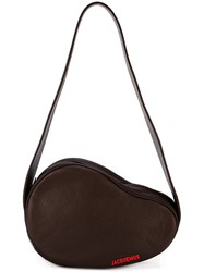 Jacquemus 'Le Haricot' Shoulder Bag Brown