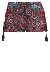 Band Of Gypsies Shorts Red Navy Mix