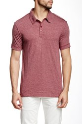 Rogue Short Sleeve Polo Red