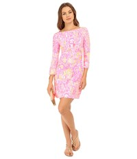 Lilly Pulitzer Upf 50 Sophie Dress Pink Pout More Kinis In The Keys Women's Dress