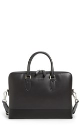 Burberry Men's 'The Barrow' Leather Briefcase