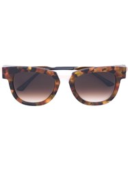 Thierry Lasry Square Frame Sunglasses Yellow And Orange