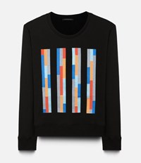 Christopher Kane Bolster Embroidered Sweater Black