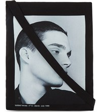 Raf Simons Isolated Heroes Tote Black