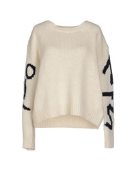 5Preview Sweaters White